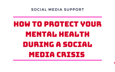 Mental health supports for social media managers